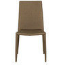 Six Seater Glass Top Dining Set in Brown Colour by Parin