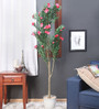Fourwalls Green Synthetic Tall Decorative Artificial Oleandro Plant