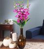 Fourwalls Multicolour Fabric Gladiolus Artificial Flower Bouquet