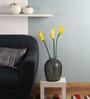 Fourwalls Yellow Polyurethane Artificial Calla Lilies