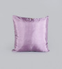 Foyer Purple Taffeta 18 x 18 Inch Taar Cushion Cover