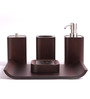 Foyer Wood Bathroom Set - Set of 4