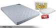 Free Offer - Convenio 4 Inches Thick Multi-Colour Foam Mattress by Kurl-On