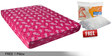 Free Offer - Kurlo Bond 5 Inch Single Multicolor Coir Mattress by Kurl-On