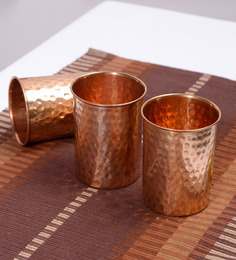 Frestol Copper 260 ML Glass - Set of 3