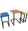 Francis Set of Tables in Multi colour by Asian Arts