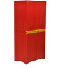 Freedom Mini Medium Storage Cabinet in Red & Yellow Colour by Nilkamal