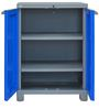 Freedom Storage Unit in Dark Blue & Grey Colour by Nilkamal