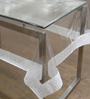 Freelance Lace Edge White PVC 60x90 INCH Table Cover - Set of 1