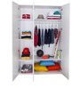 French Collection Wardrobe in Pink Finish by Alex Daisy