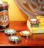 Frestol Multicolour Steel Tea Light Holder - Set of 12