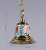 Frestol White Brass Mandir Bell with Chain