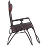 Frolic Easy Foldable Chair in Purple & Red Colour by Nilkamal