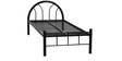 Full Metal Single Bed by FurnitureKraft