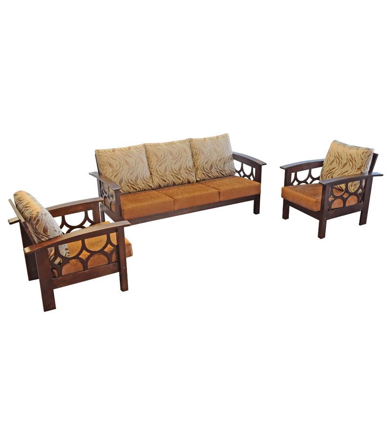 Zuari Sofa Set Online: Furniture Kraft Fern Designed Sofa Set 2699 From Pepperfry