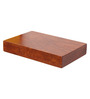 Furnicheer Brown Mango Wood Wall Shelf