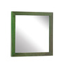 Furnicheer Green Mango Wood Mirror