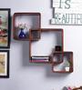Florentino Wall Shelf in Oak by CasaCraft