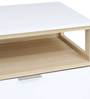 Fusion Sideboard Cabinet in White Colour by @Home