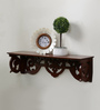 Futureheads Eclectic Wall Shelf in Brown by Bohemiana