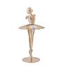G n G 24K Gold Plated & Studded with Swarovski Crystal Dancing Ballerina Showpiece