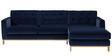 Ganamaria L Shape Sofa in Dark Blue Colour by Madesos