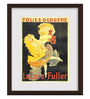 Gabambo Paper 12 x 1 x 15 Inch Vintage Folies Bergere Wood Finish Framed Poster