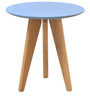 Gama Side Table in Aqua Colour by @home