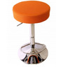 Garry cafeteria cum Bar Stool in Orange Colour by The Furniture Store