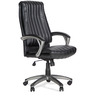 Gary Leatherite Medium Back Chair by Hometown