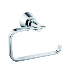 Gesign Silver Brass 6.3 x 3.7 x 5.5 Inch Toilet Paper Holder