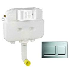 Geberit Bright Chrome PVC Concealed Flush Tank (Model: 14007)