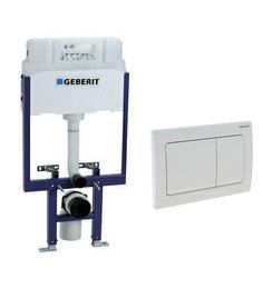 Geberit White PVC Concealed Flush Tank (Model: 14026)