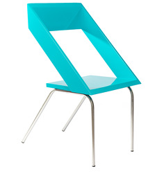Geo Chair in Blue Colour by Tube Style