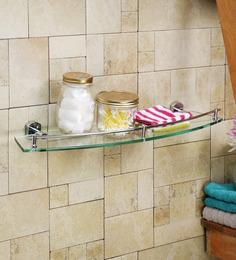 Gesign Transparent Abs 26.3 X 1.6 X 6.7 Inch Elite Bathroom Shelf