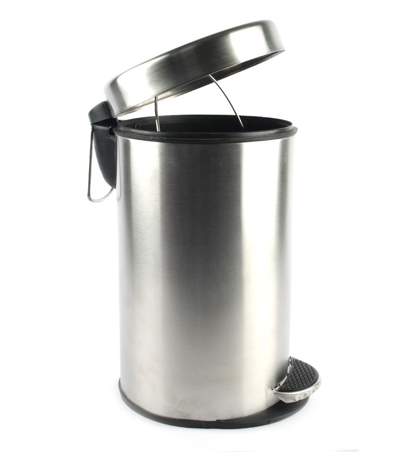 Buy 7 Ltr Stainless Steel Dustbin from Pepperfry at Flat 58% Off - Rs 499