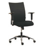Genesis Series B Mid Back Office Chair in Black Colour by BlueBell Ergonomics