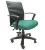 Geneva Desktop Marina Office Ergonomic Chair in Green Colour by Chromecraft