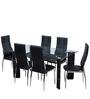 Geneva Dining Set Six Seater by Royal Oak