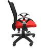 Geneva Office Ergonomic Chair in Black & Red Colour by Chromecraft