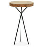 Genoa End Table in Natural Finish by The ArmChair