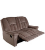 Genoa Two Seater Recliner Sofa in Khaki Colour by Evok