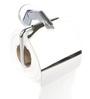 Gesign Jazz Silver Brass 6.3 x 3.7 x 5.5 Inch Toilet Paper Holder