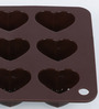 Ghidini Silicone 15-cavity Heart-shaped Chocolate Mould