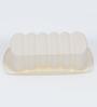 Ghidini White Silicone Plum Cake Mold