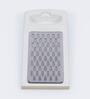 Ghidini White Plastic and Stainless Steel Vegetable Grater