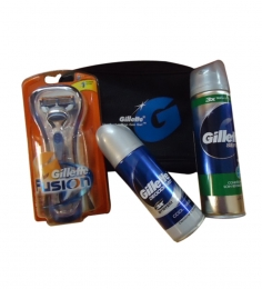 Gillette Fusion Kit with Series Gel