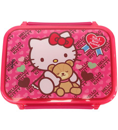 Gingercrush Hello Kitty Lunch Box In Pink Colour