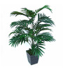 Ginni Bloom Green Polyester Areca Palm Plant