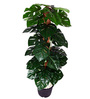 Ginni Bloom Green PVC & Synthetic Artificial Split Philo Plant